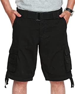 fjackets Cargo Shorts Mens Shorts for Casual Wear - Multi Pockets Clothing Bike Shorts - Ideal Cruise and Vacation Essentials