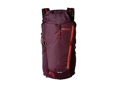 Marmot Kompressor Plus (Dark Purple/Brick) Backpack Bags