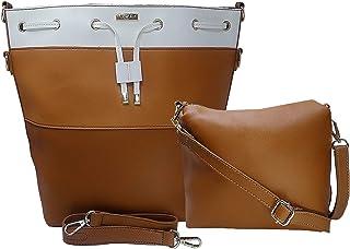 TYPIFY Women's Handbag With Sling Bag (Set of 2)