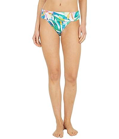 La Blanca Wild Tropic Shirred Band Hipster Bikini Bottoms