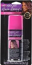 Tulip Body Art Hair Spray, Pink, 2 Ounce