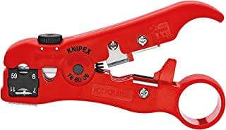 KNIPEX Isolatiegereedschap voor coax- en datakabels (125 mm) 16 60 06 SB