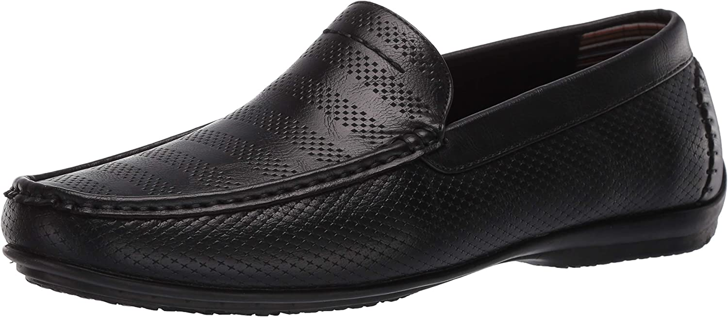 STACY ADAMS low-pricing Men's Cirrus Moc Slip-on Loafer Toe Style Driving Selling