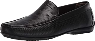 STACY ADAMS Men's Cirrus Moc Toe Slip-on Loafer Driving Style