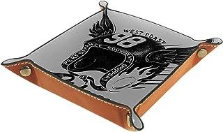 Vockgeng Casque de Moto Cool Boîte de Rangement Panier Organisateur de Bureau Plateau décoratif approprié pour Bureau à Do...