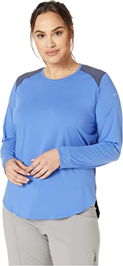 Plus Size Saturday Trail™ Knit Long Sleeve Shirt