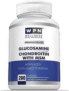 WPN Glucosamine Chondroitin & MSM Advanced Non-GMO