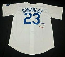 "Adrian Gonzalez Signed Los Angeles Dodgers Baseball Jersey""4x Gold Glove"" PSA - Autographed MLB Jerseys"