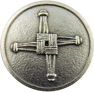 Religious Gifts Irish Catholic Brigids Cross with St Saint Blessing Pocket Token