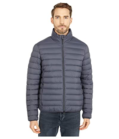 Save the Duck Dull Finish Mitey Puffer Jacket (Ebony Grey) Men