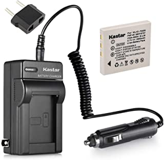 DC29 Travel and Car Charger Adapter for Fujifilm F610 F650 F455 F700 F710 F810 F811 J50 Z2 Z3 Z5fd Camera as KLIC-7005 D-Li85 D-LI8 SLB-0737 NP-40 DSTE/® 2X NP-40 Battery