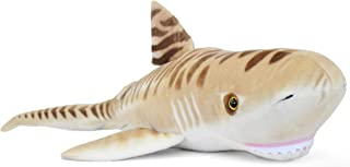 VIAHART Tito The Tiger Shark | 4 1/2 Foot Long Big Stuffed Animal Plush | Shipping from Texas | by Tiger Tale Toys