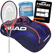 HEAD Sloane Stephens Pro Player Graphene Touch Radical MP Tennis Racquet and Gear Bundle Pack