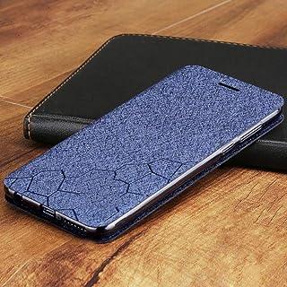 SENDIAYR läderCoverfall stå tillbaka kisel coque män Flip fall, Xiaomi redmi not 8t