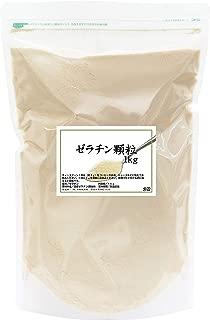自然健康社 国産ゼラチン顆粒 1kg 密封袋入り
