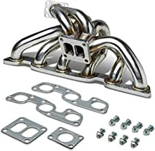DNA MOTORING TM-EVOX-NP Stainless Steel Turbo Manifold