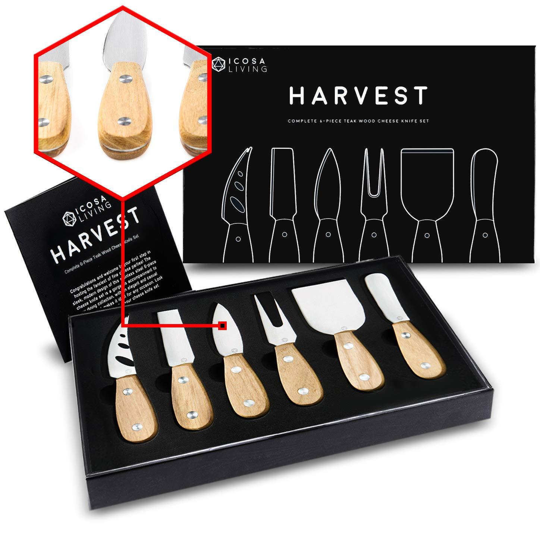 HARVEST Premium 6 Piece Cheese Knife