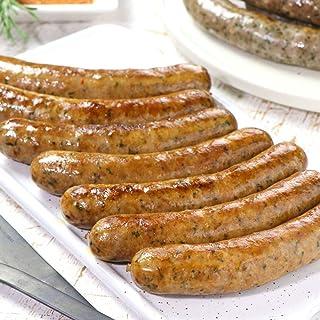ミートガイ ラム肉 手作り スパイシー 生ソーセージ 100%無添加・砂糖不使用 (7本 約450g)