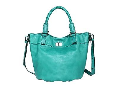 Old Trend Genuine Leather Pumpkin Bucket Bag