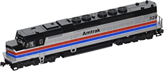 Kato USA Model Train Products N EMD SDP40F Type 1 Amtrak Phase II #529 Train