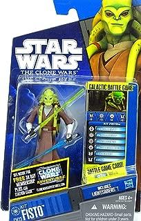 Hasbro Star Wars 2010 Clone Wars Animated Action Figure CW No. 23 Kit Fisto