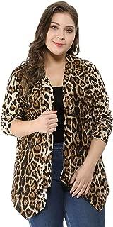 Best plus size cheetah print blazer Reviews