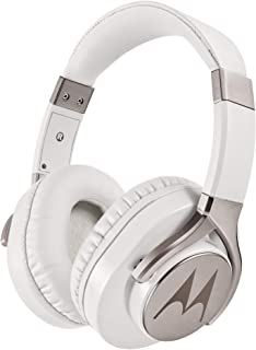 Motorola Pulse Max - Over Ear Wired Headphones with 40mm Driver & Mic - Ultra-Lightweight Headset with Foldable Rotating C...