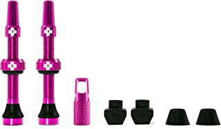 Muc Off Tubeless Valve Kit: Pink, fits Road and Mountain, 44mm, Pair