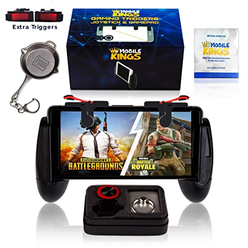 New mobile controller compatible with Pubg, Phones sizes 5.3in-7in, Cellphone triggers
