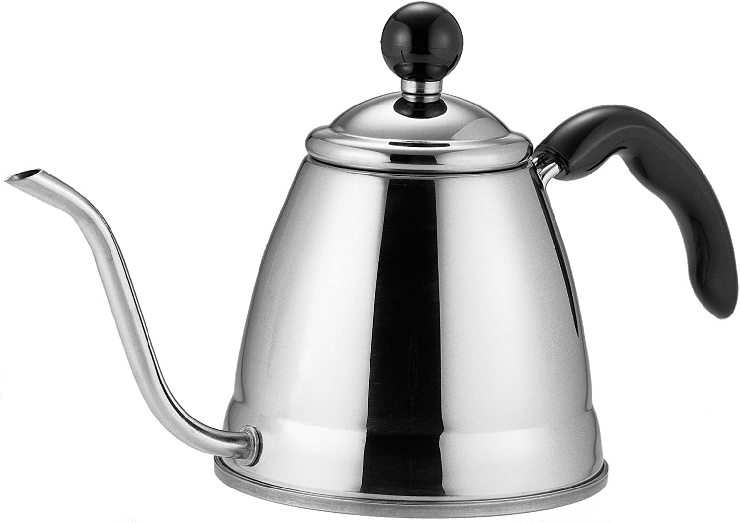 Fino Pour Over Coffee and Tea Kettle, 4 1 4Cup 6Cup Stainless Steel