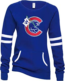 women's chicago cubs hoodie