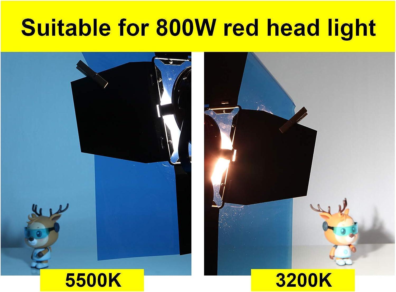 transparent 40 x 50 cm Selens Licht-Gel-Filter