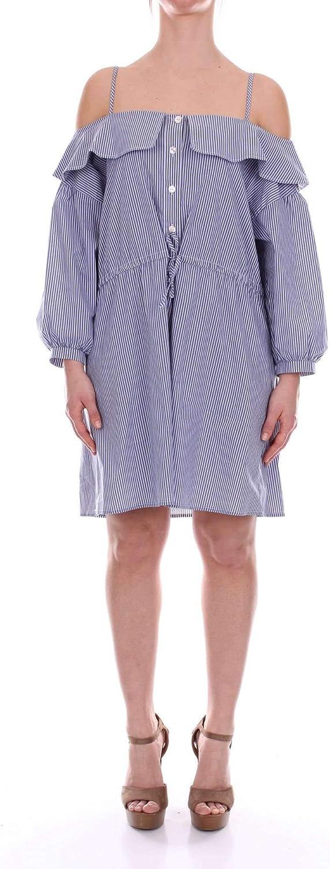 Jovonna London Women's BENCHLEYAZZURROEBIANCO Light bluee Cotton Dress