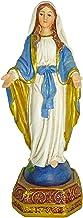 Ferrari & Arrighetti Estatua Virgen Milagrosa de 12 cm con Caja de Regalo y marcapáginas (en IT/ES/FR/IN)