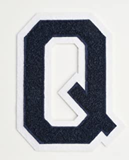 """A-Z MADE IN USA Details about  /Blue//Red 6/"""" Chenille Varsity Letter Patches"""