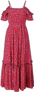 Derek Lam 10 Crosby Women's Off The Shoulder Cami Dress W/Ruffle Hem