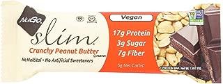 Nugo Nutrition Bar - Slim - Crunchy Peanut Butter - 1.59 Oz Bars - Case Of 12