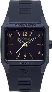 [リップカール] Rip Curl 腕時計 Men's 'Rifles' Quartz Plastic and Polyurethane Sport Watch, Color:Black クォーツ A3038-GOL メンズ 【並行輸入品】