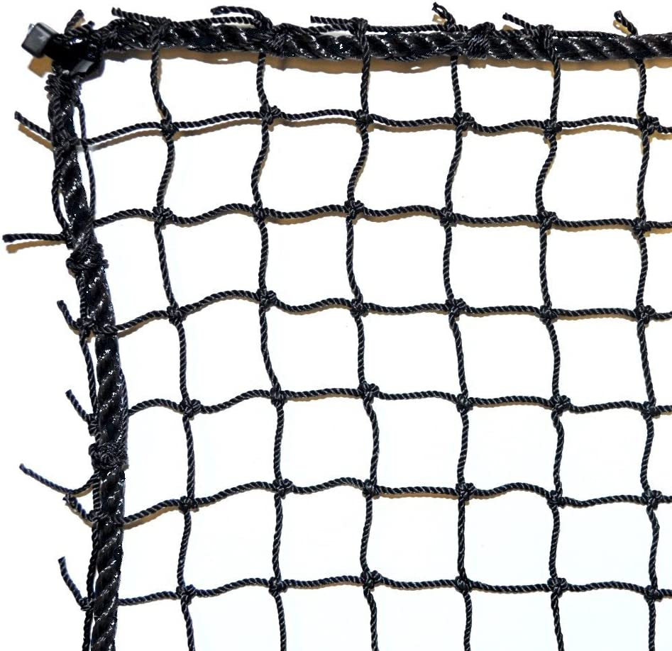 1 Large discharge sale year warranty Dynamax Sports Golf Practice Barrier 10X30-ft Net Black