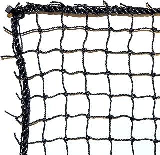 Dynamax Sports Golf Practice/Barrier Net, Black, 10X10-ft