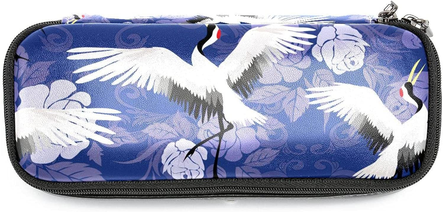 Classic High order Bag Pen Pencil Stationery Pouch Cran Memphis Mall Cosmetic Case White