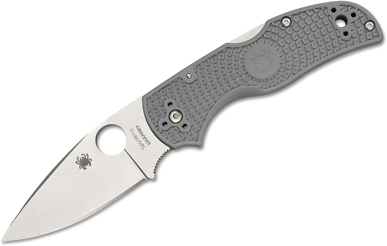 Spyderco Native 5 5 5 Micro-Melt Maxamet Taschenmesser Grau, Klingenlänge  7,5 cm, 01SP926 B06XPJ4Q5Q  Kaufen Sie online 2ce0d9