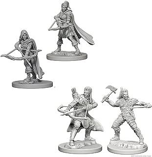 Dungeons & Dragons Nolzur's Marvelous Unpainted Miniatures Bundle: Human Male Ranger & Human Female Ranger