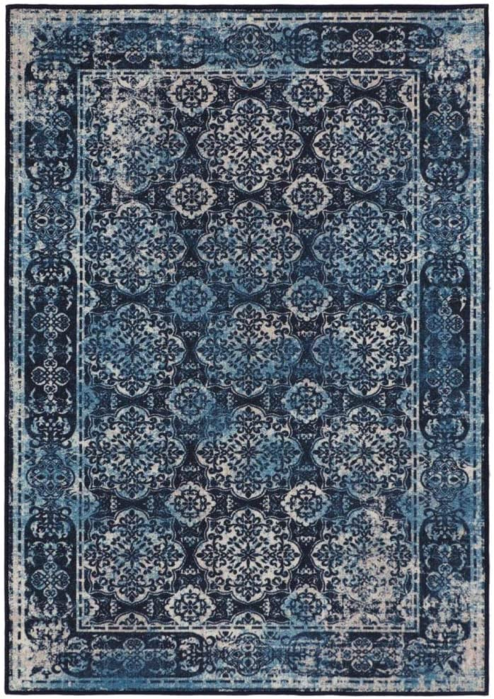 Rugsmith Porto Opening large release sale Max 90% OFF Tile Area Rug 7' x Multicolor 5'