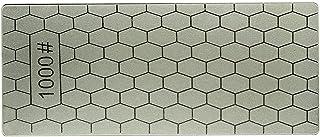 fengzong 400/1000 Granos Cuchillos de Piedra de Afilado de Diamante Fino Placa de Diamante Afilador de Cuchillos de Piedra de afilar Afilador Herramientas de Afilado de Cuchillas (Gris y 1000 Granos)