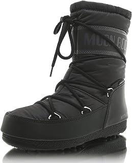 Moon Boot Mid Nylon Wp, Unisex Adults' Snow Boots