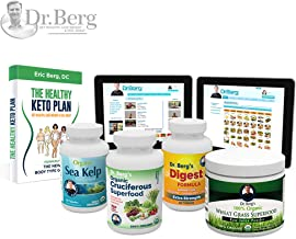 Thyroid Body Type Kit - High Quality Nutrient Formulas - Support, Restore and Improve Health by Dr. Berg