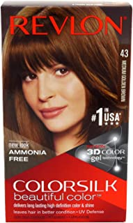 Revlon Colorsilk Hair Color, Medium Golden Brown [43]