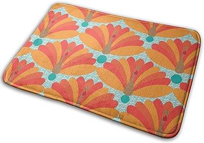 Thanksgiving Turkey Art Carpet Non-Slip Welcome Front Doormat Entryway Carpet Washable Outdoor Indoor Mat Room Rug 15.7 X 23.6 inch