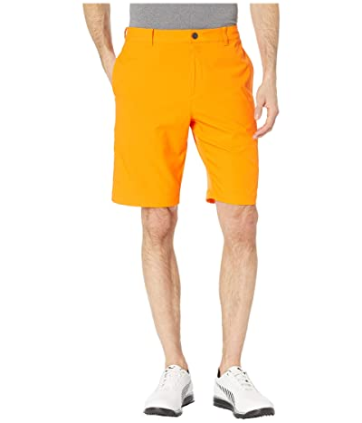 PUMA Golf Jackpot Shorts (Vibrant Orange) Men